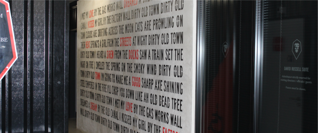 Astra Signs - Case Study -Salford City