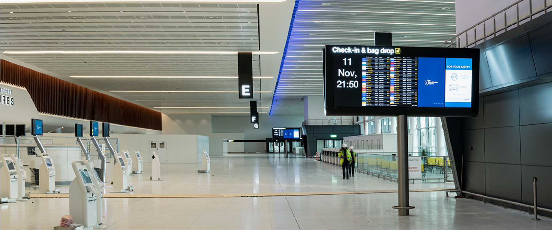 Case Study - Manchester Aiport Terminal 2 Transformation Project