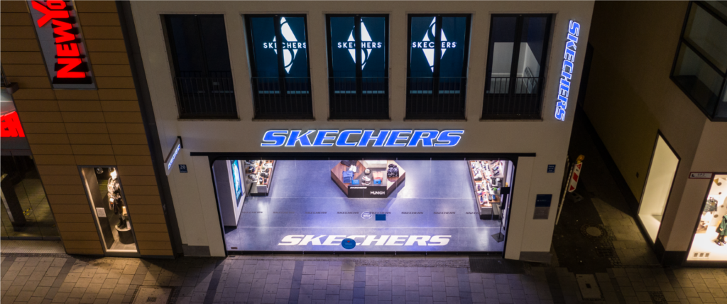 Astra Signs Case Study Skechers