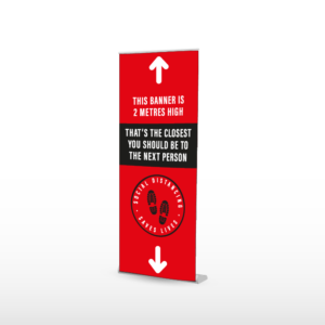 POP UP BANNER, ROLL UP BANNER